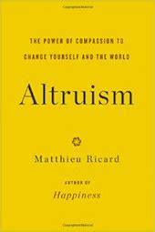 Essay on altruism